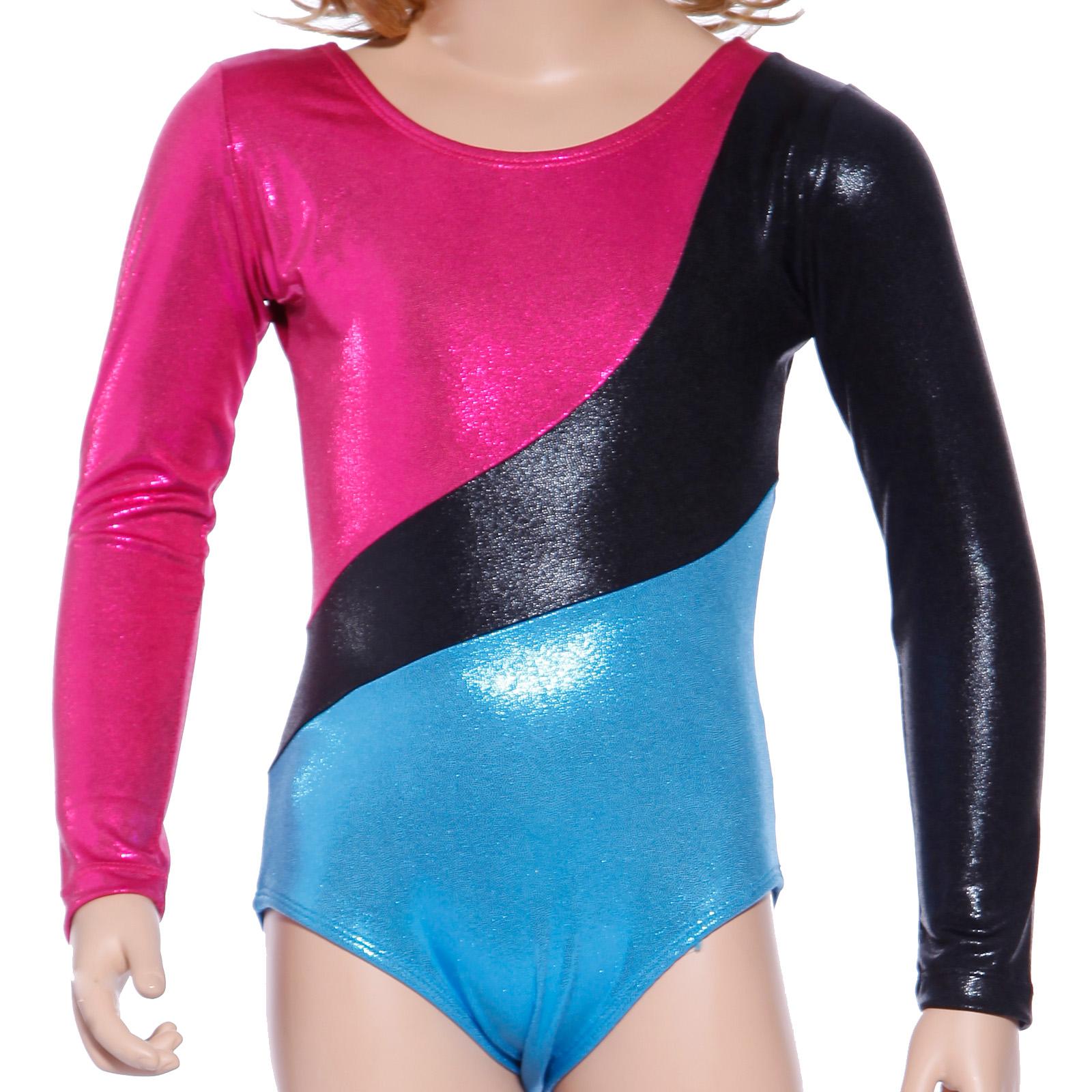 254284ee0714 Gymnastics Leotards Gym Leotard Velvet Lycra Metallic Sparkly Girls ...