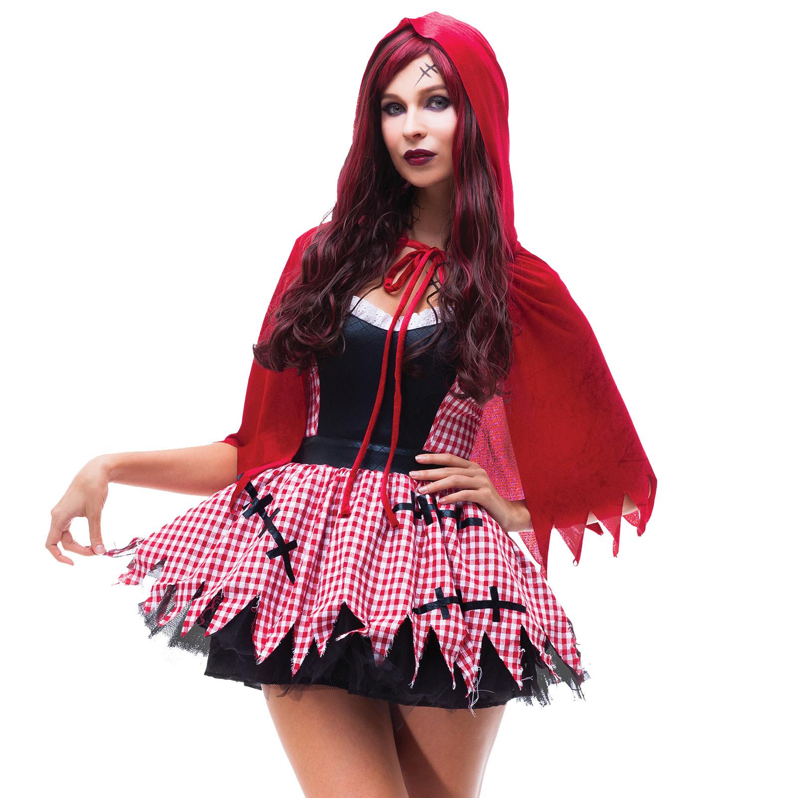 Disfraces Para Halloween De Caperucita Roja.Detalles De Disfraz De Vampiro Muerte Zombi Caperucita Roja Enfernera Halloween Para Adultos