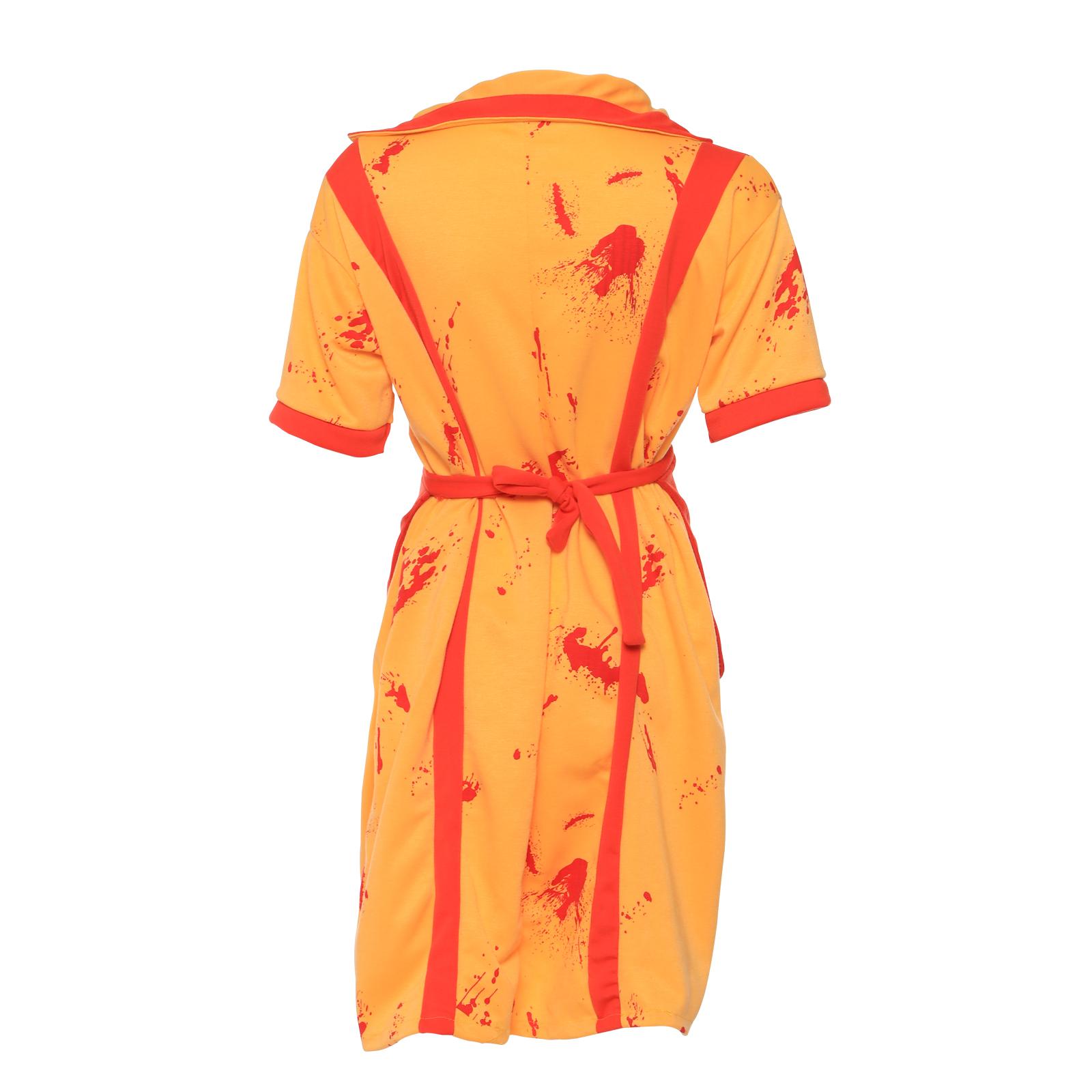 Broke Girls Waitress Fancy Dress Costume Zombie Maid Dress Full Outfits