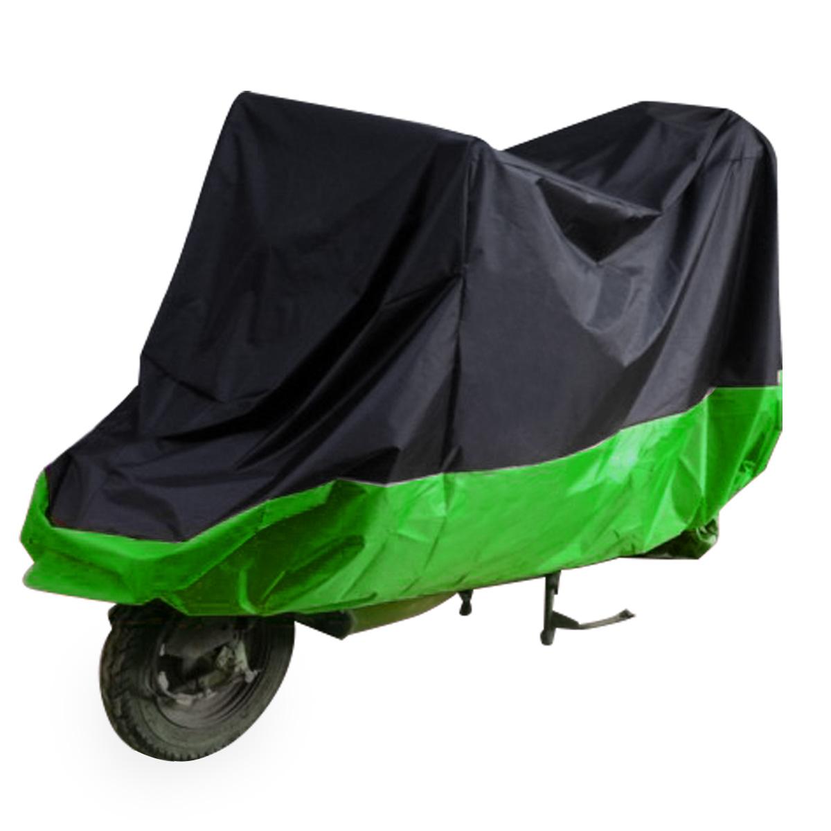 SurePromise Large Motorbike Cover Anti Dust Rain UV Waterproof Motorcycle Protection with Lock Holes Storage Bag