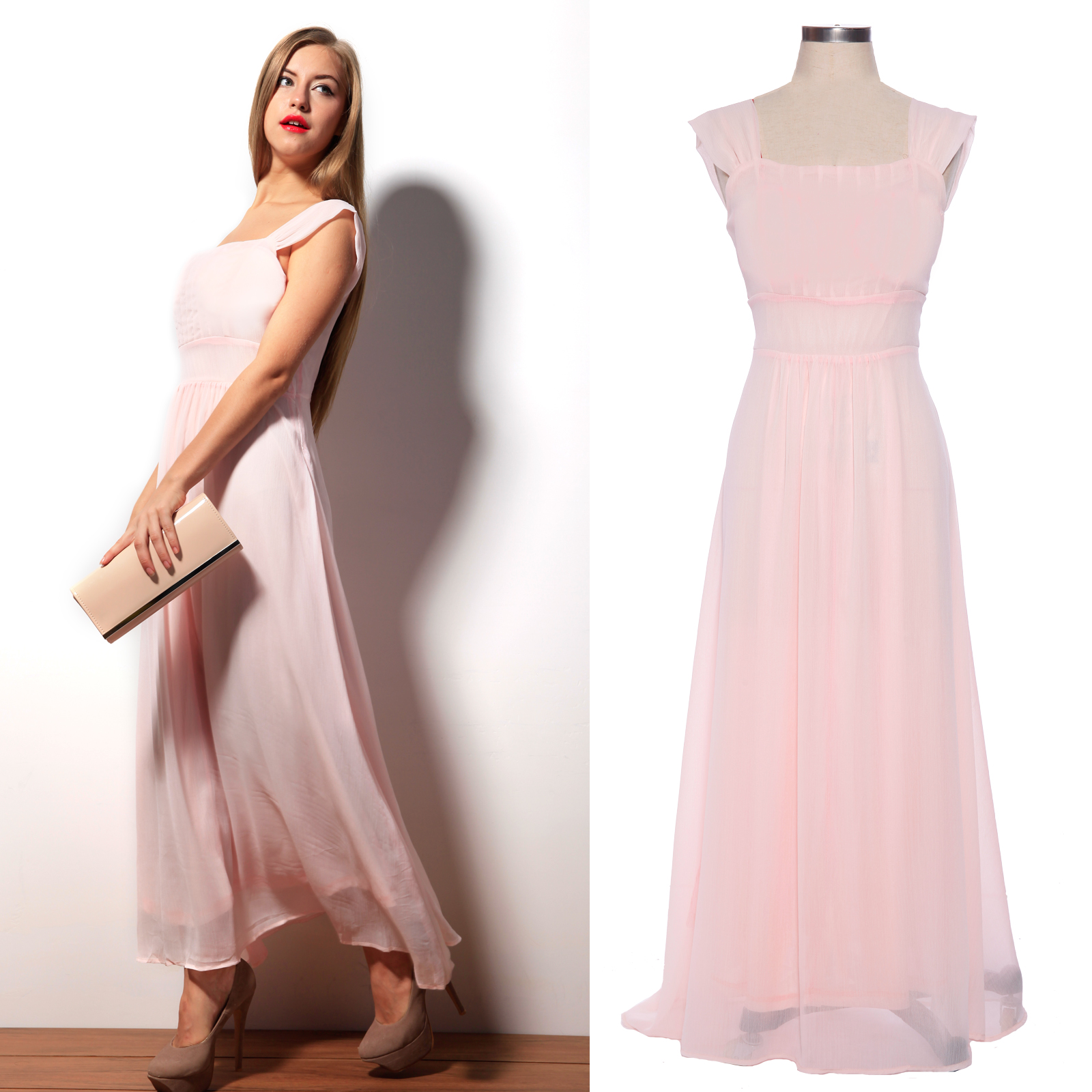 Womens dress party evening long dresses cocktail prom for Designer brand wedding dresses