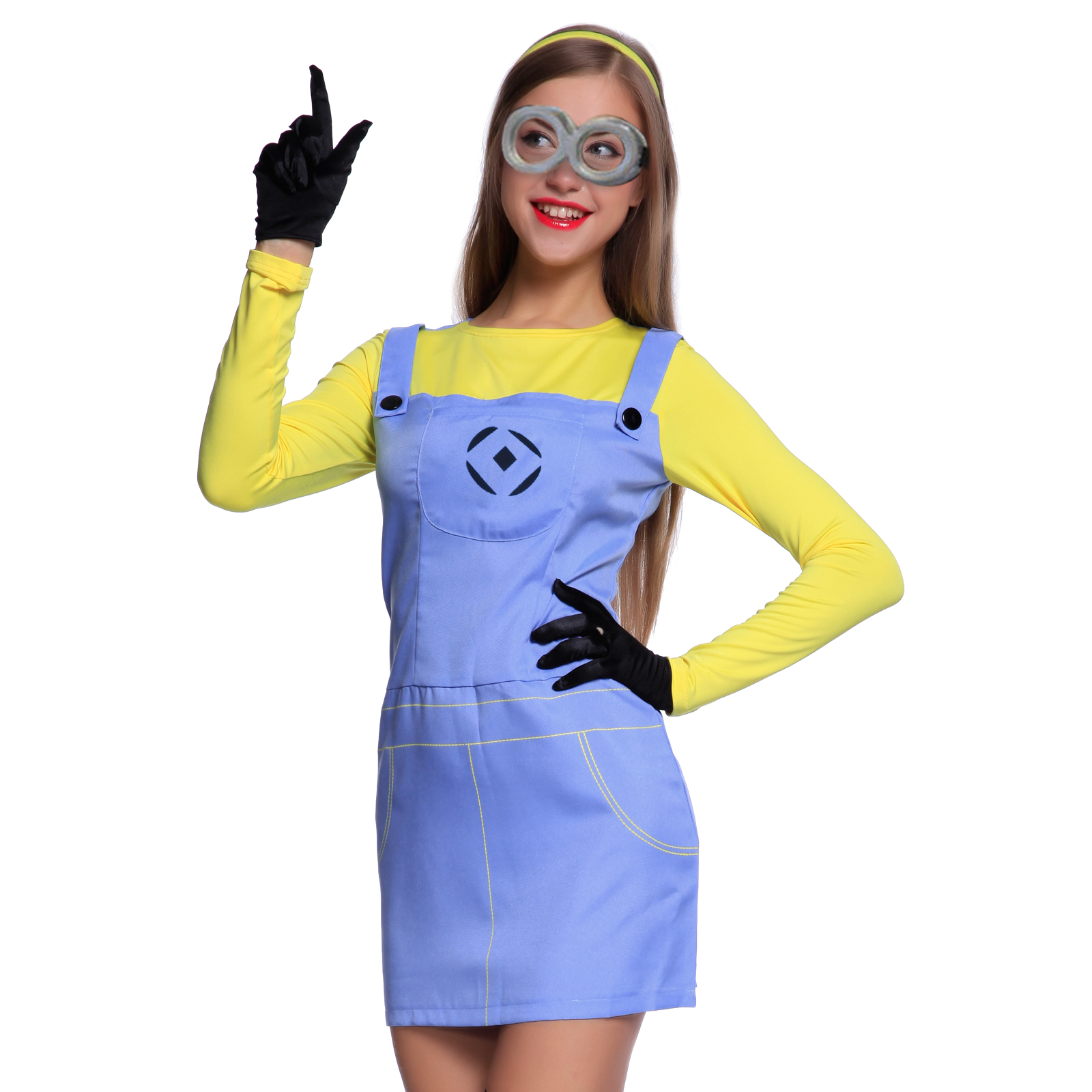 how to make minion fancy dress costume