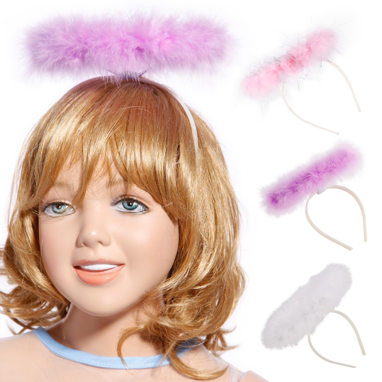 New Women/'s Girls HeadBand Halo Angel Hen Night Fairy XMas Fancy Dress Party