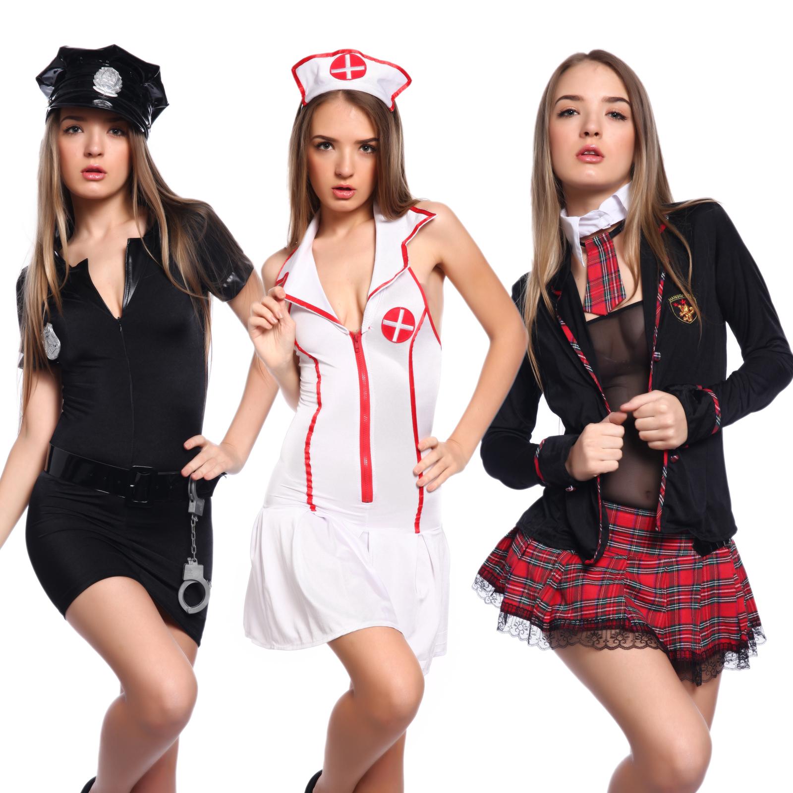 Women schoolgirl outfit sexy uniform ladies police nurse costume women schoolgirl outfit sexy policewoman cop uniform nurse costume fancy dress solutioingenieria Images
