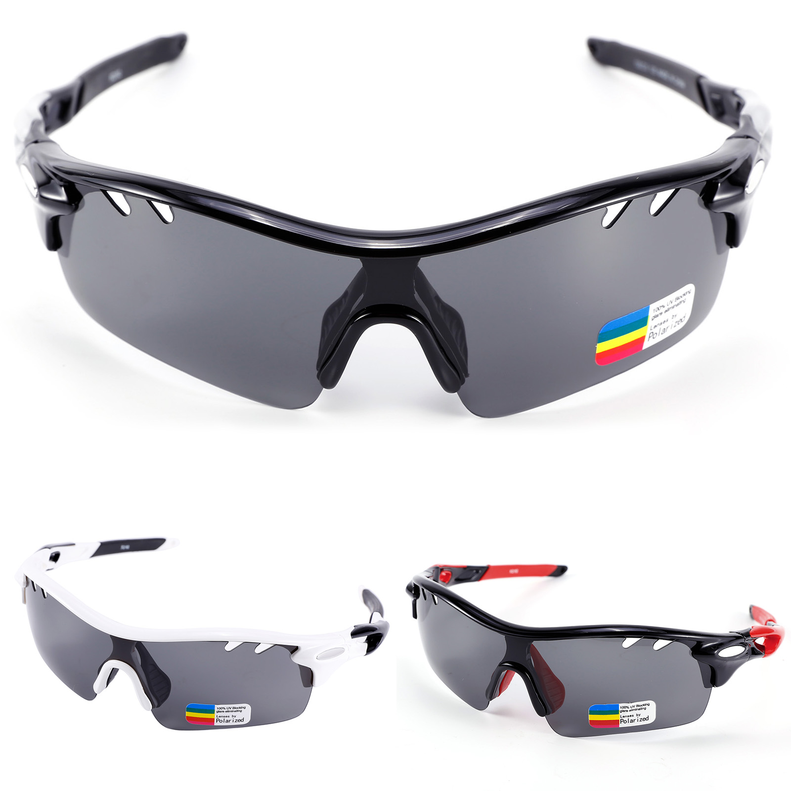 af59219e77ff Windproof Polarized Cycling Glasses Sports Outdoor Goggles Casual Sunglasses