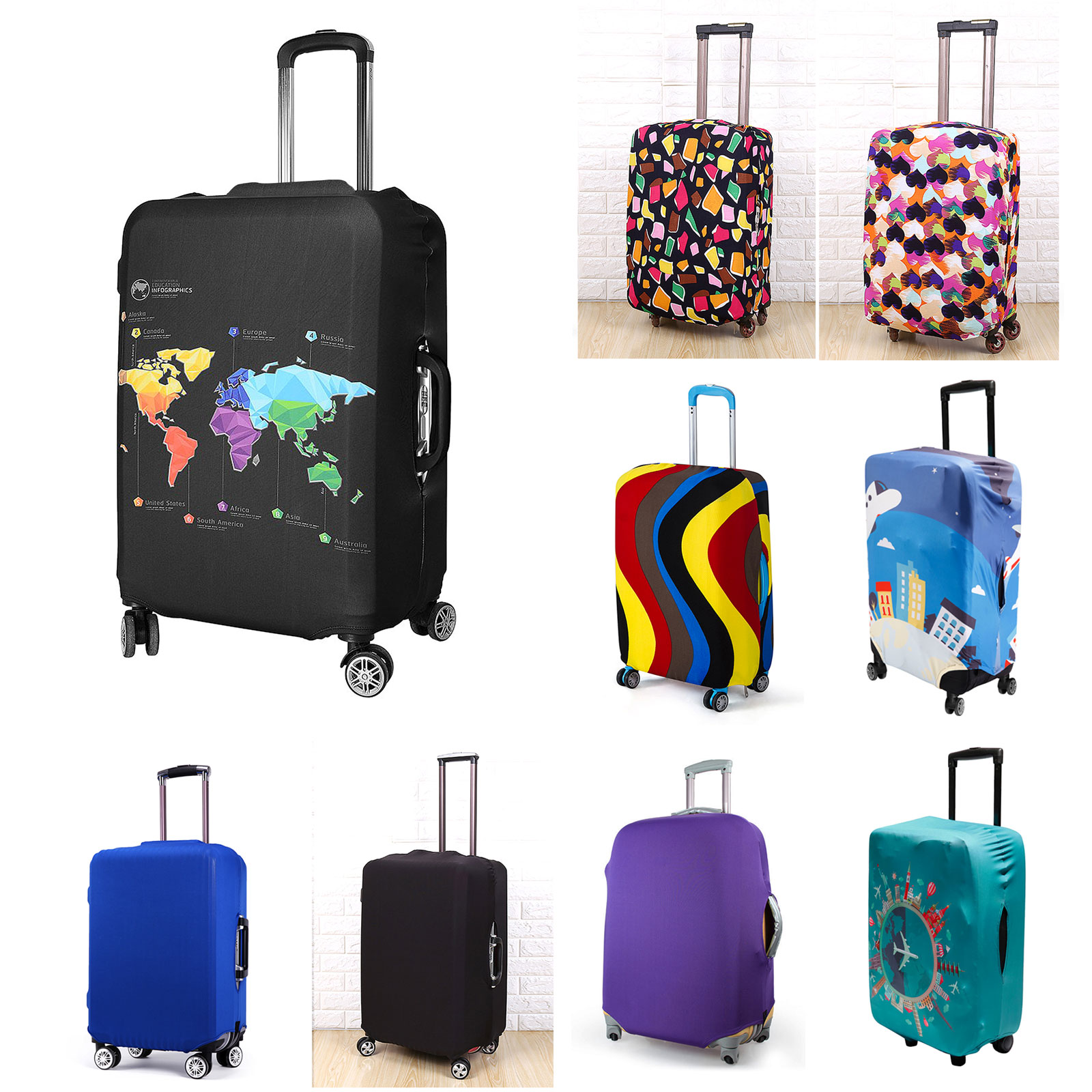Vivo Picnic Roller Trolley Bag Backpack Telescopic Handle Back Pack Travel Carry