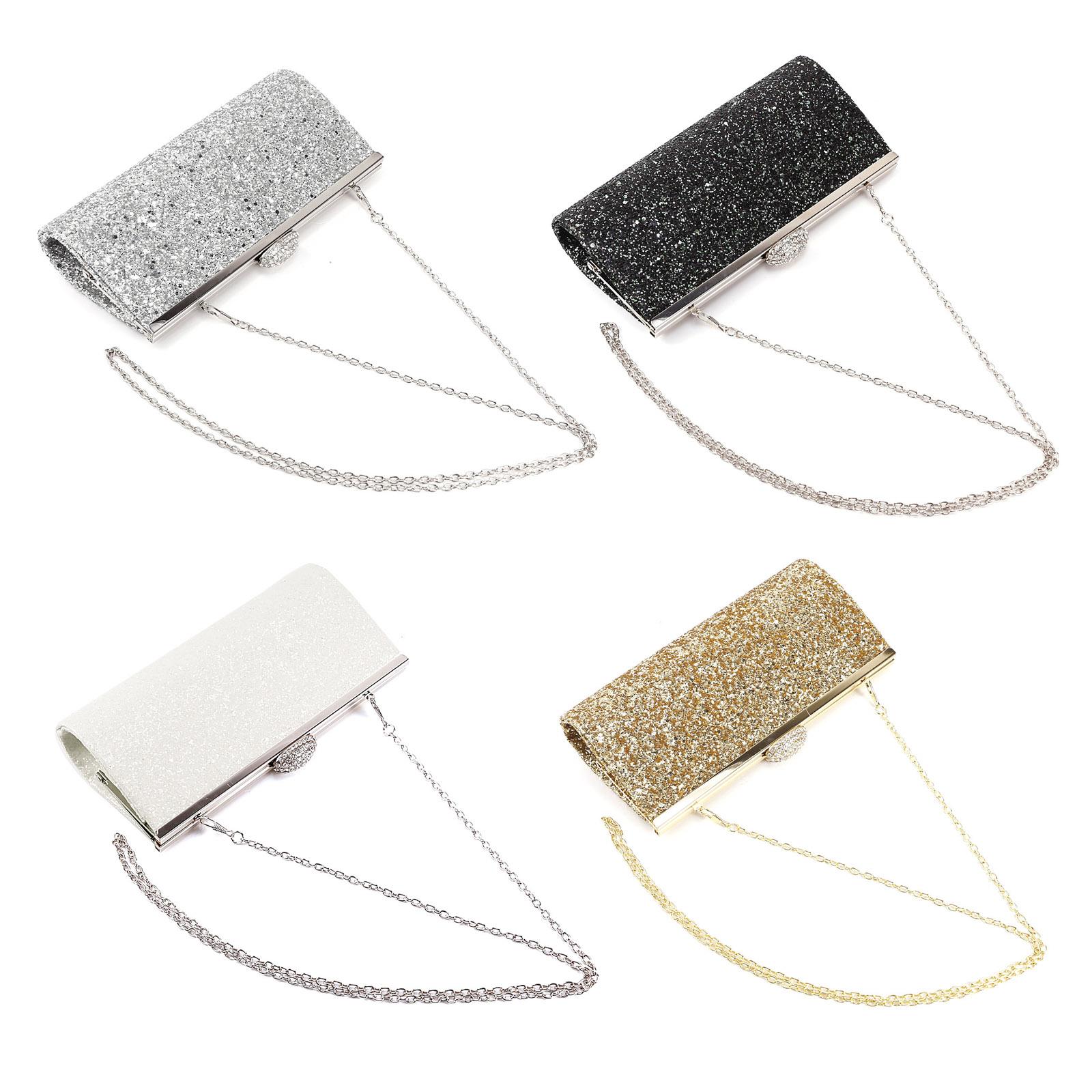 Bolso para Mujer Hebilla Diamante de Imitación Charol Bolso