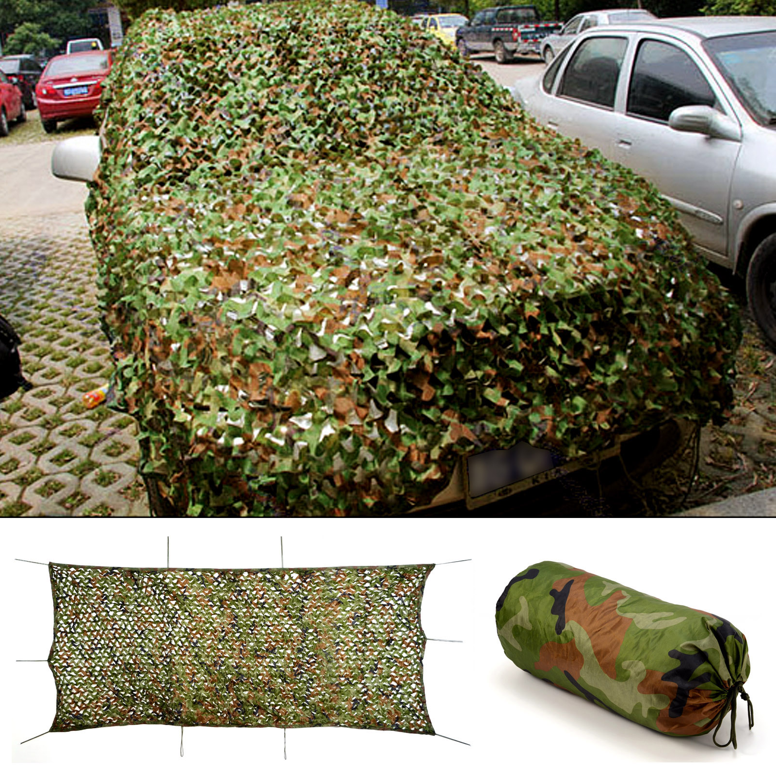 how to use camo netting