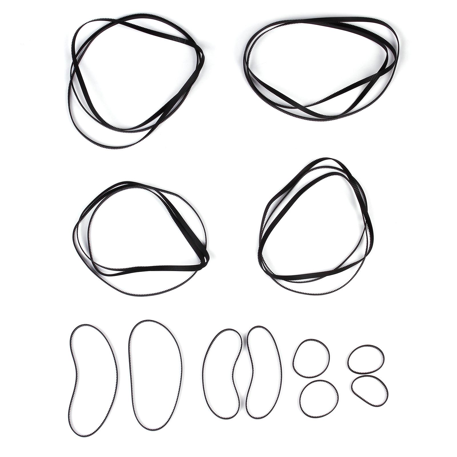 rubber closed loop timing belt for cnc 3d printing 61