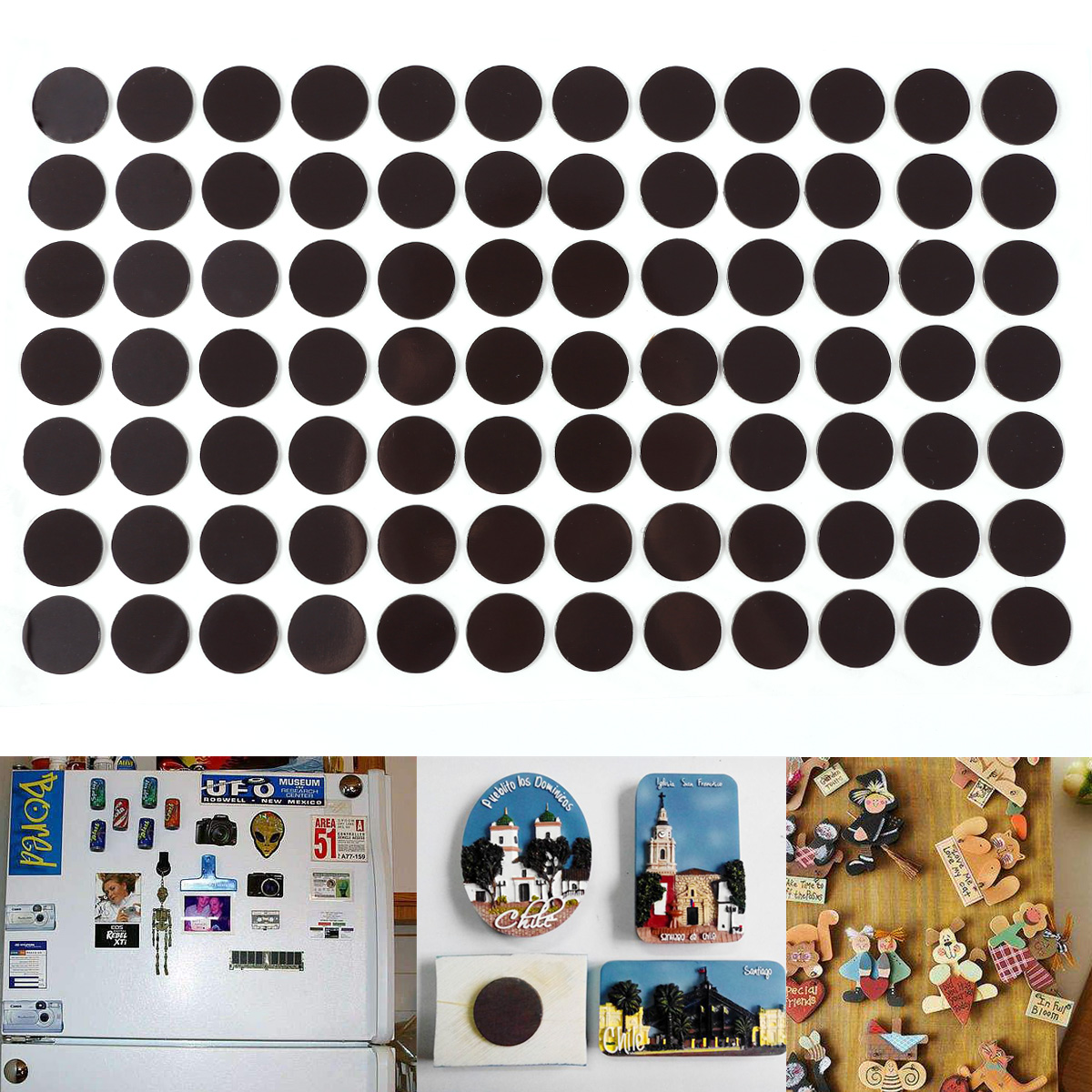 Stick On Magnet Self Adhesive Magnetic Strip Invitation