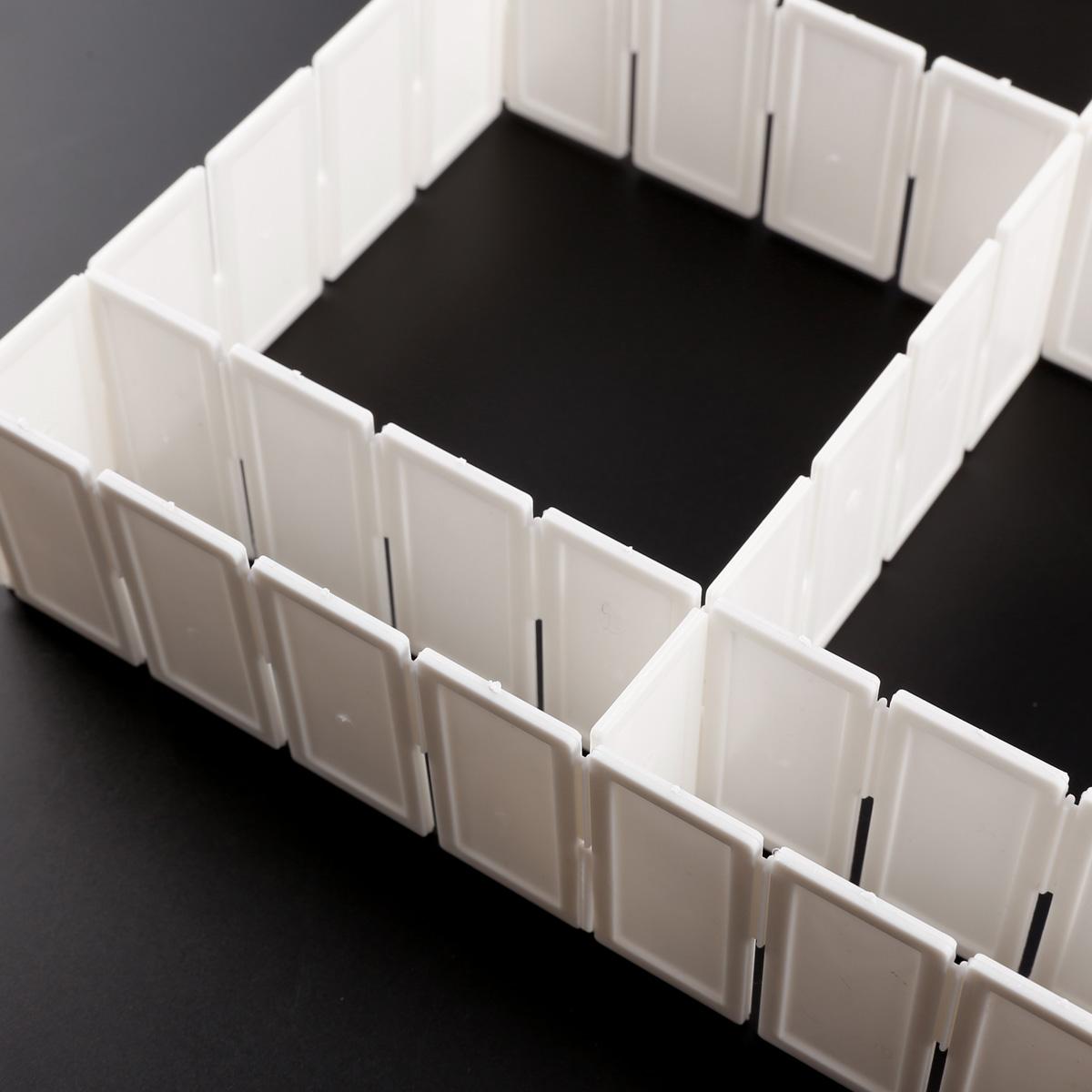 Plastic Drawer Storage Organizer Home Kitchen Partition