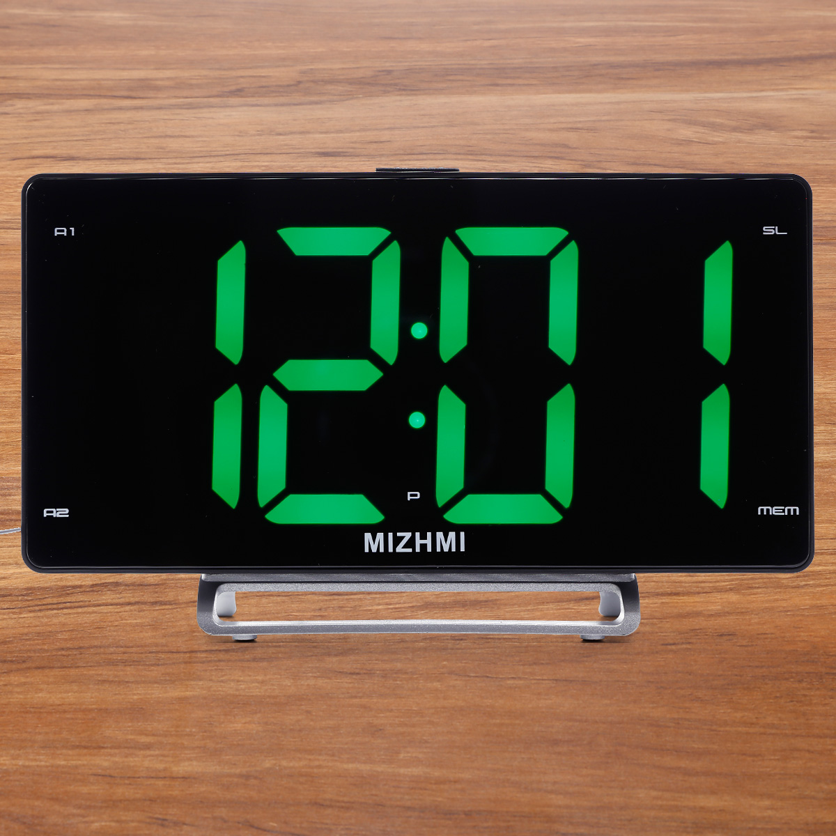 Details About Electronic Table Digital Alarm Clock Led Display Snooze Home Bedroom Decor