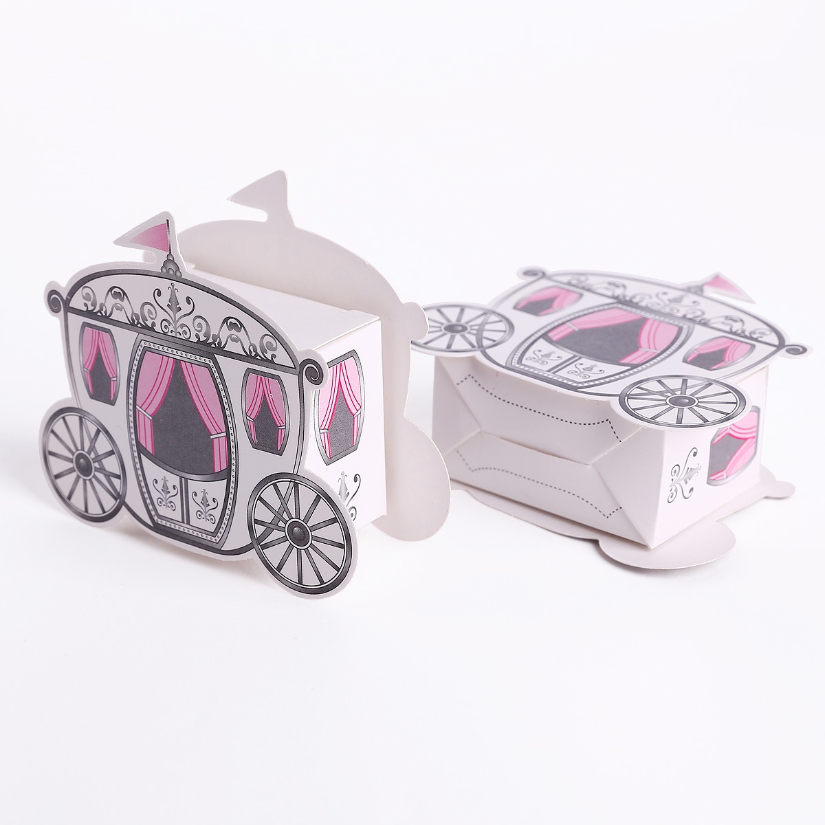 50 100pcs Cinderella Fairytale Princess Carriage Wedding Favour ... eb6c345f3