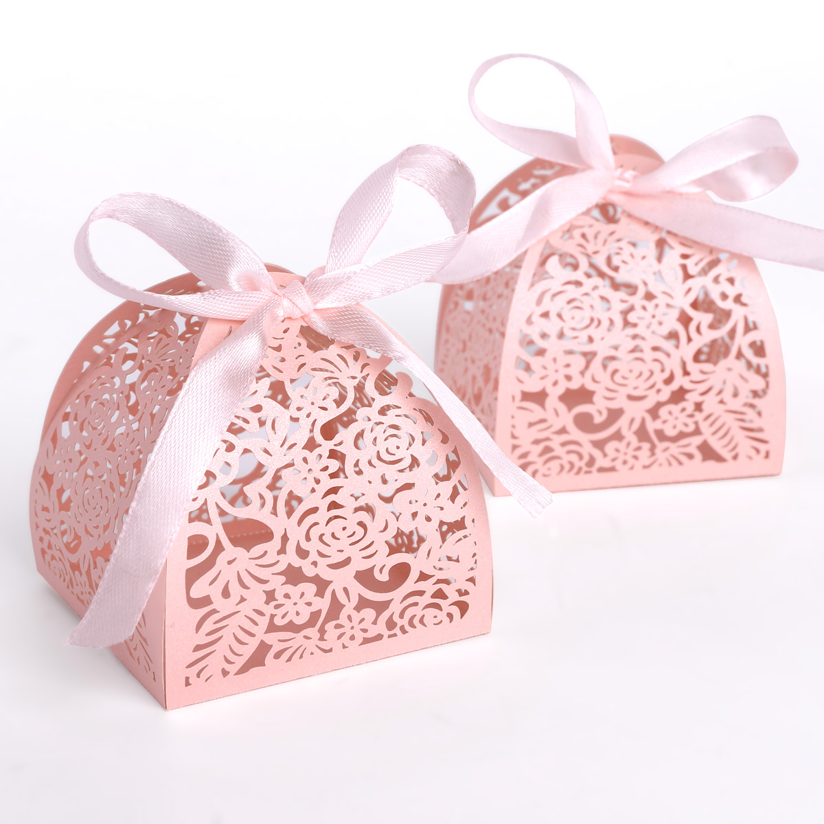 SET 25 Floral Vintage Small Gift Boxes Wedding Favour Chocolate ...