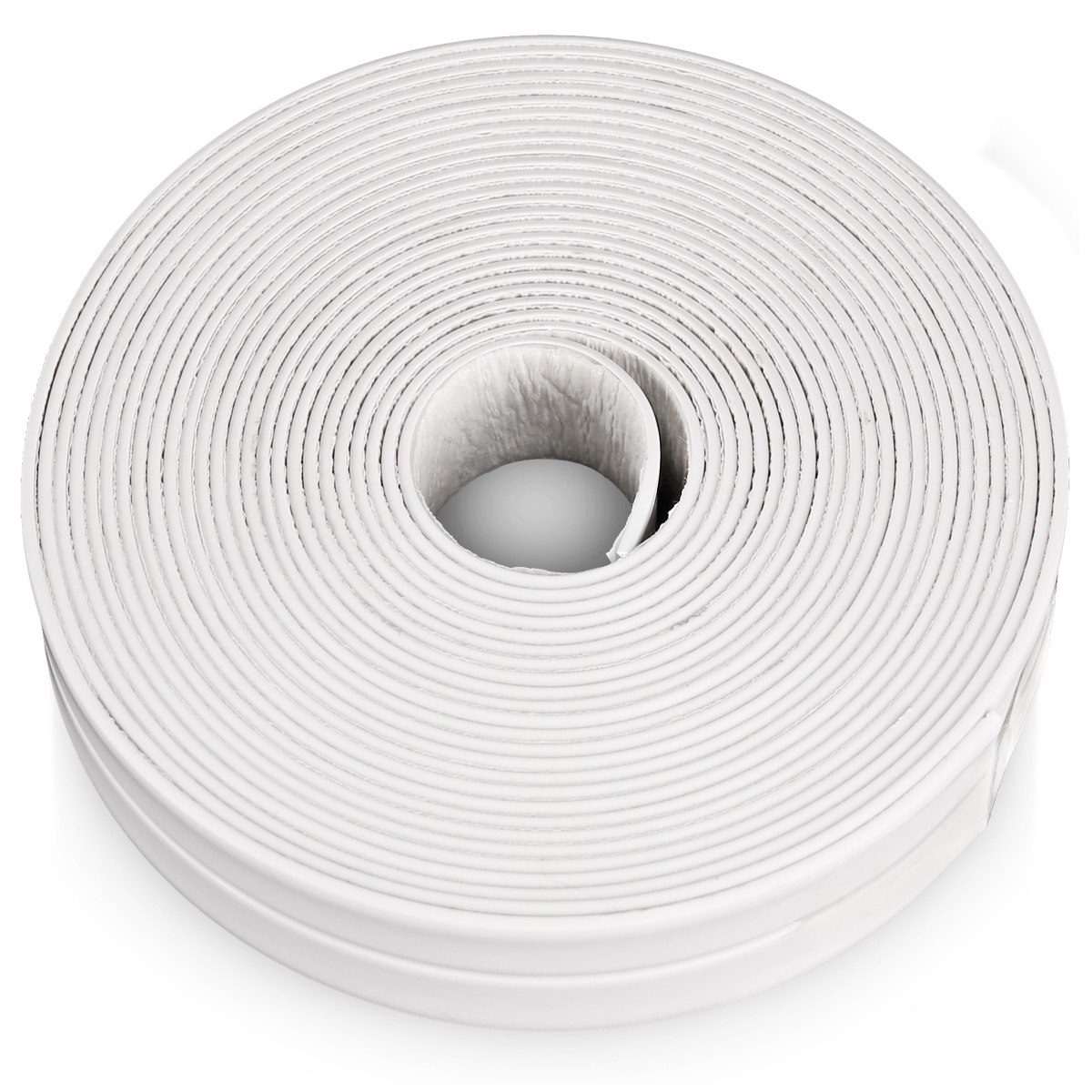 Bath And Wall Sealing Strip 22mm X 5m White Sink Basin