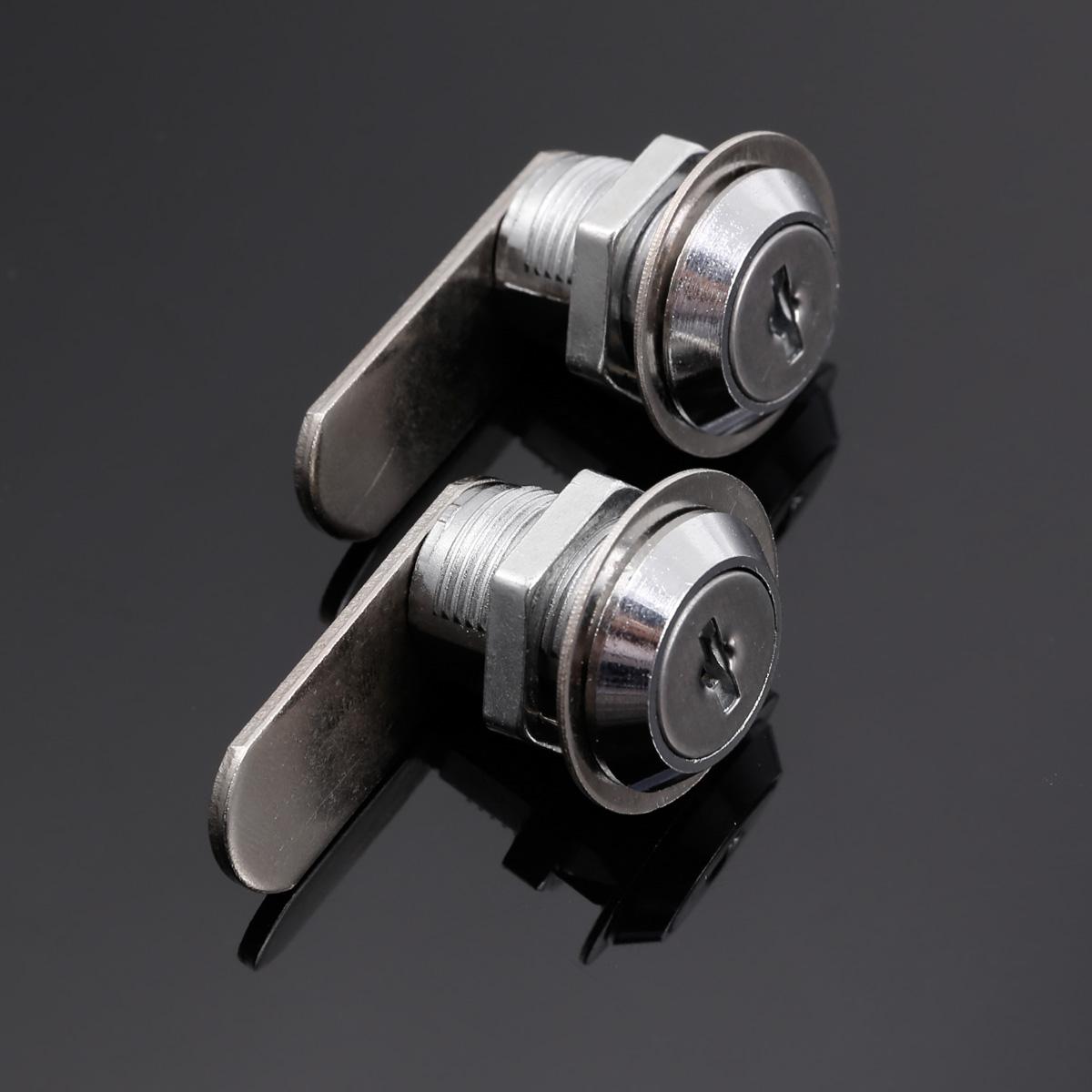 20mm 30mm Cam Lock Cylinder Barrel W Keys For Drawers