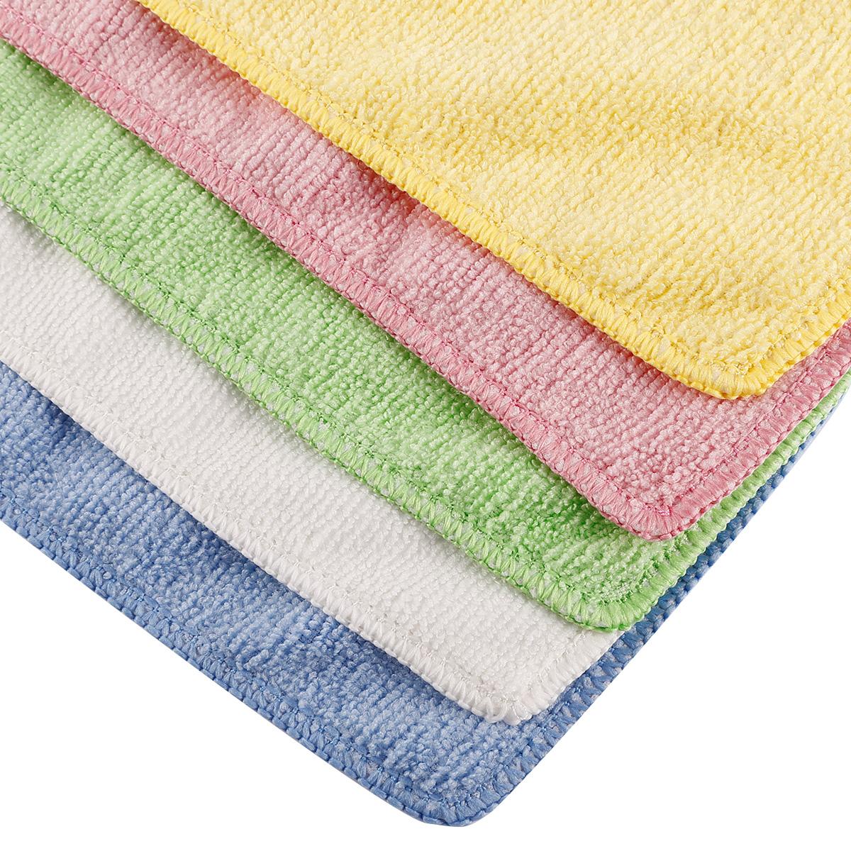Microfiber Cloth Ebay Uk: 4 / 5 Pack Microfibre Cloths Blue Microfiber Large