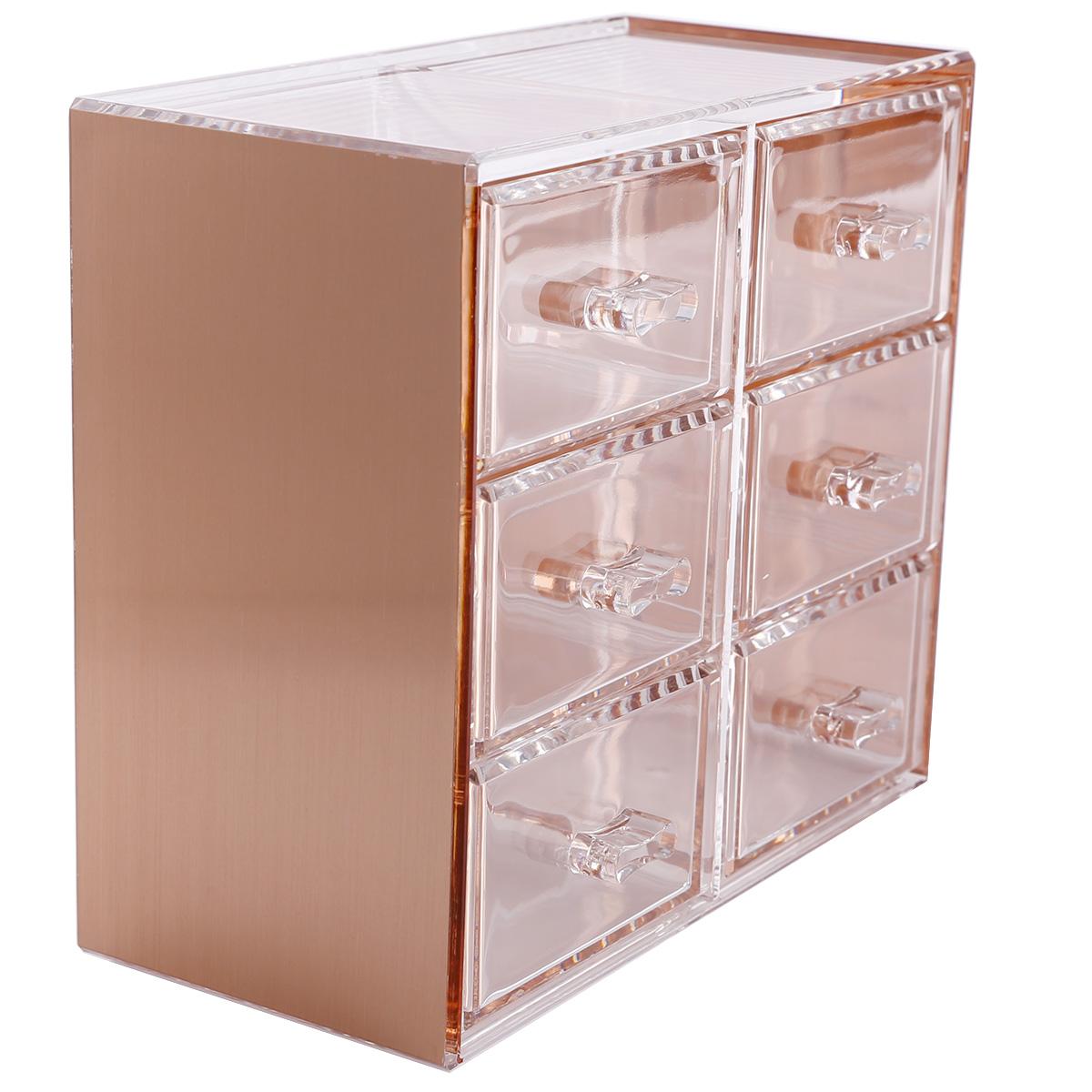 Makeup organizer acrylic box