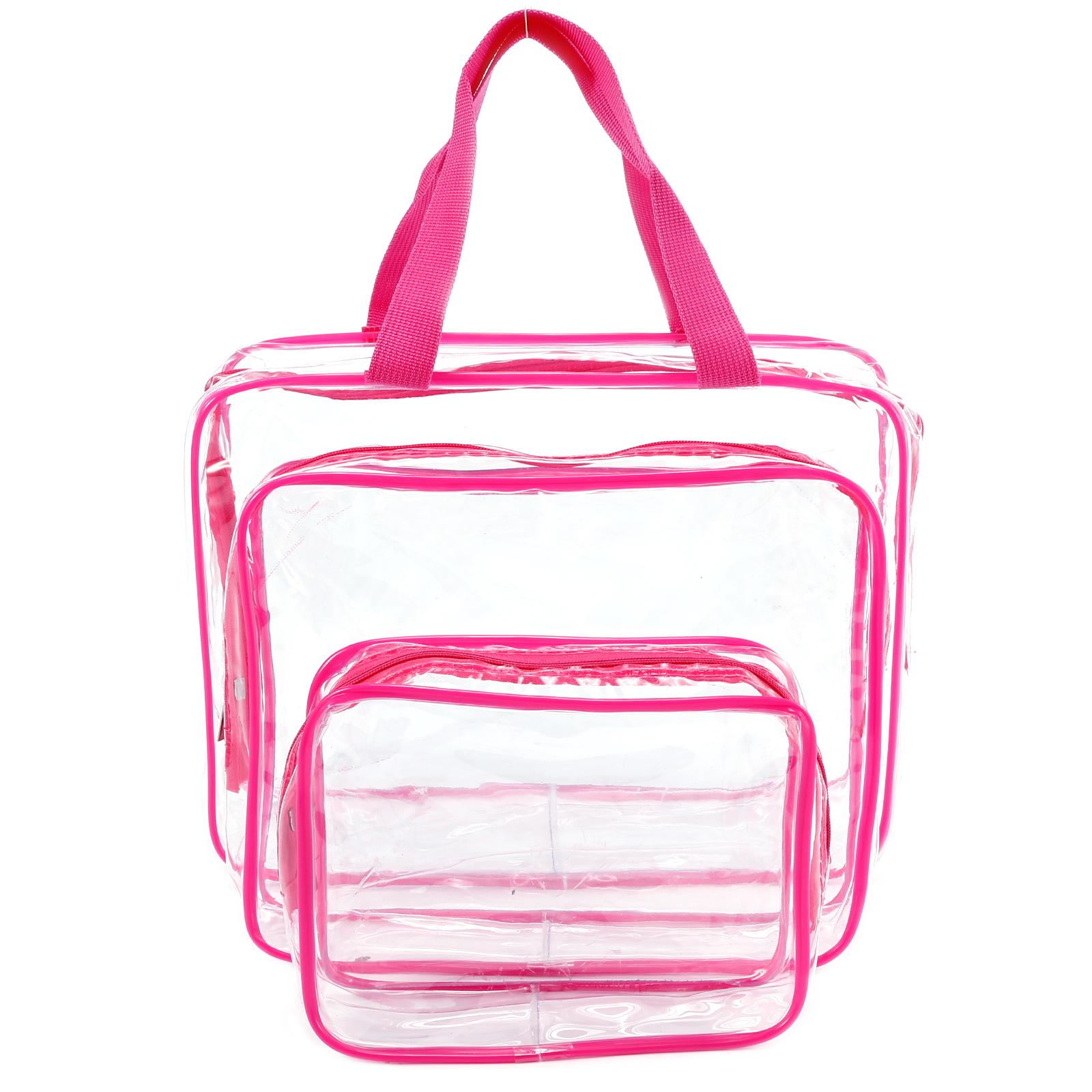 f259c3fc7b4d Details about Transparent Travel Bag Waterproof Toiletries Bag Liquid Bags  for Flights