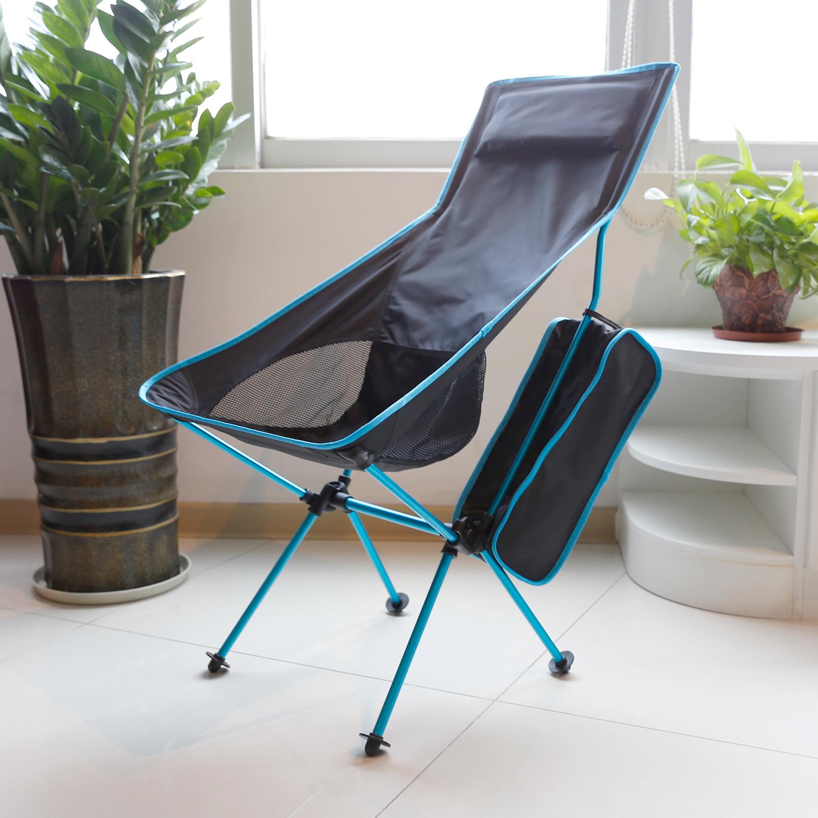 camping folding chair fishing hiking portable lightweight seat stool