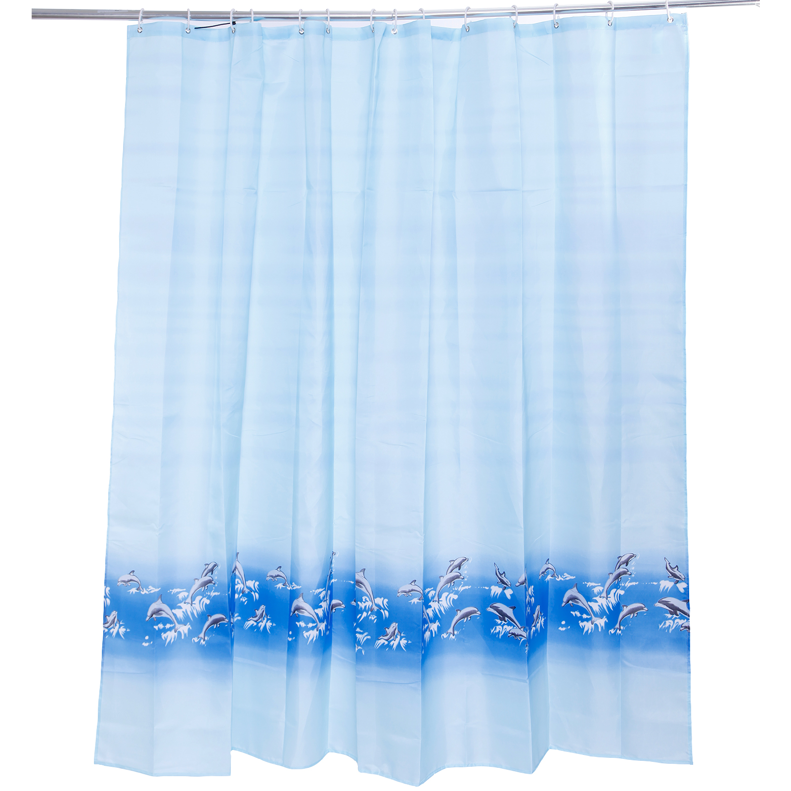 Antibacterial shower curtains different sizes extra wide for Do shower curtains come in different lengths
