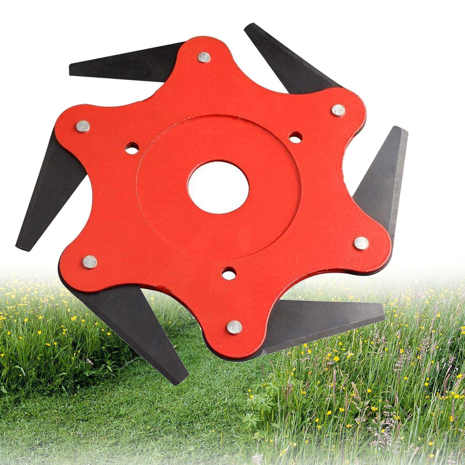 Details about String Trimmer Blade Head Carbon Steel Grass Strimmer Brush  Cutter Lawn Garden
