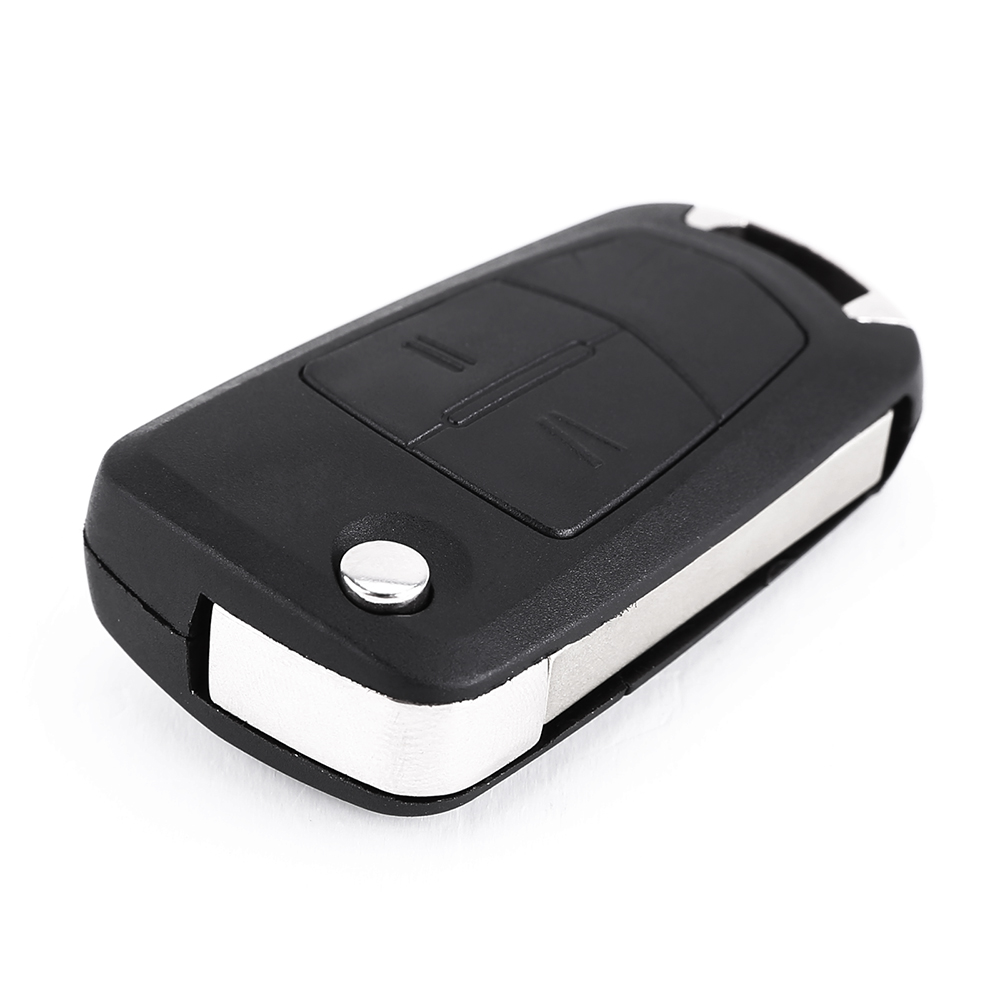 2 Button Flip Key Fob Case For Vauxhall Opel Corsa Astra ...