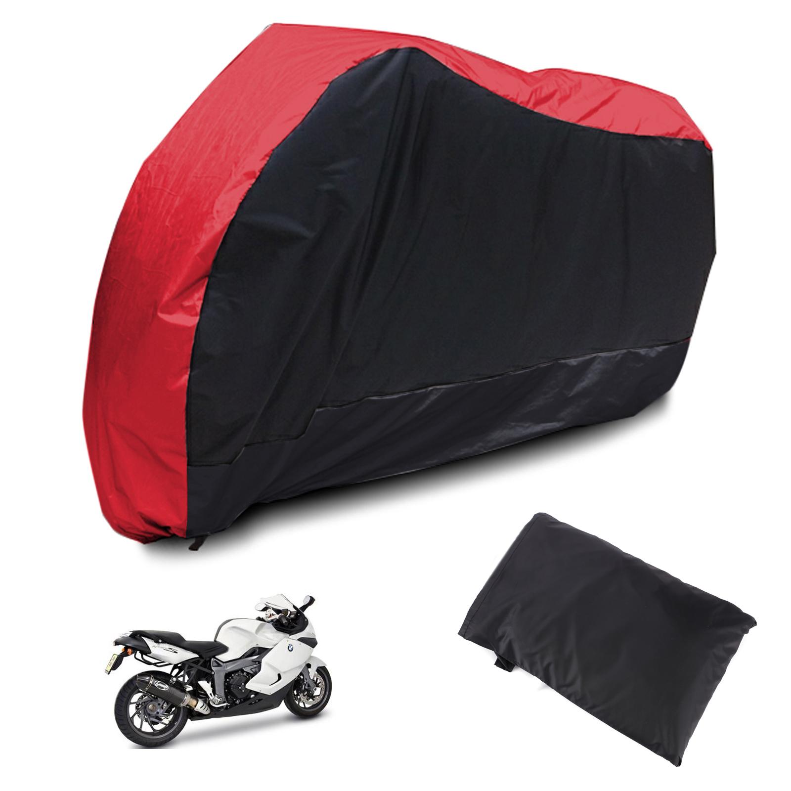 Hamimelon Funda Protectora Impermeable UV para Motocicleta con Bolsa de Transporte Camuflaje Talla XL