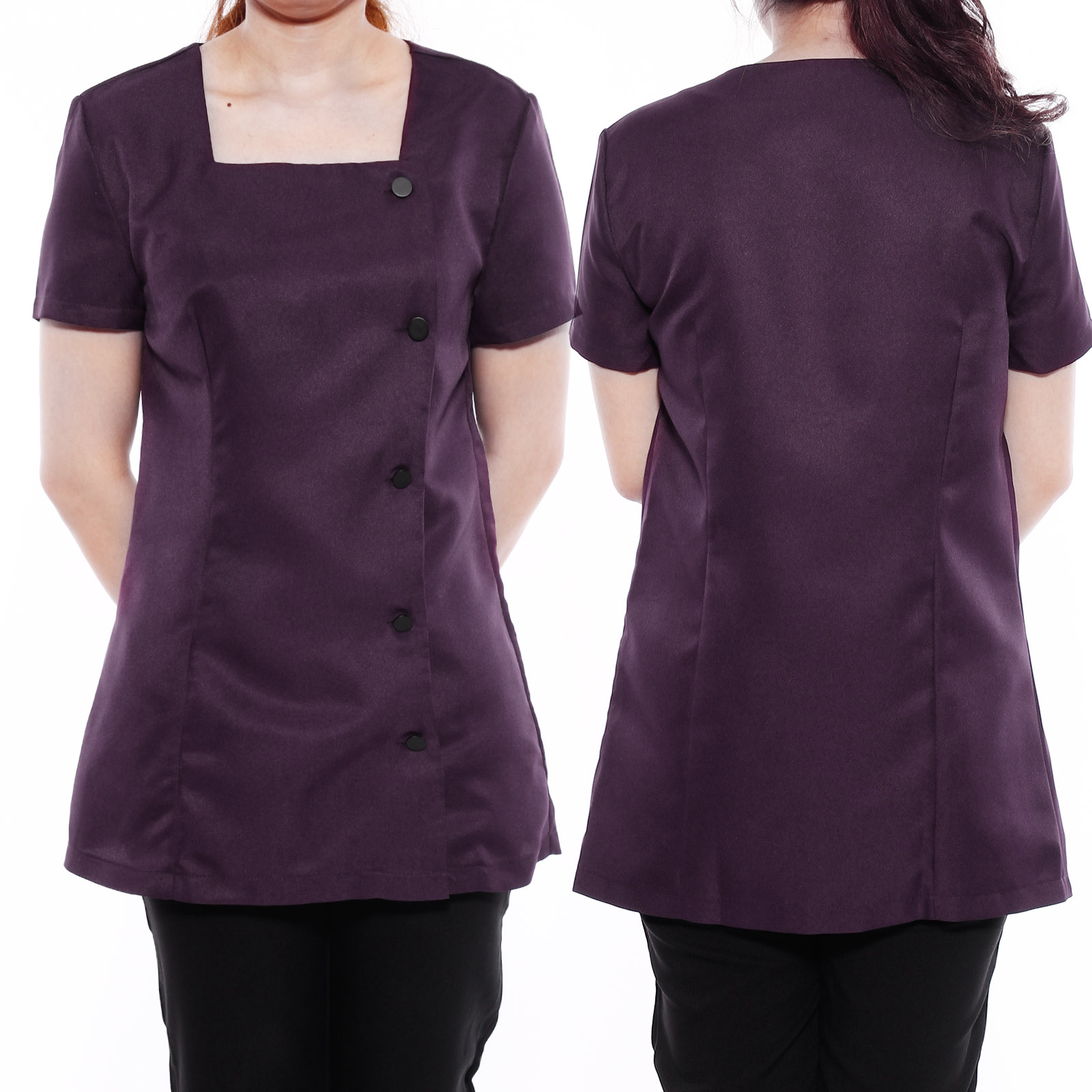 Beauty salon beautician spa nurse carer tunic health work for Spa uniform ebay