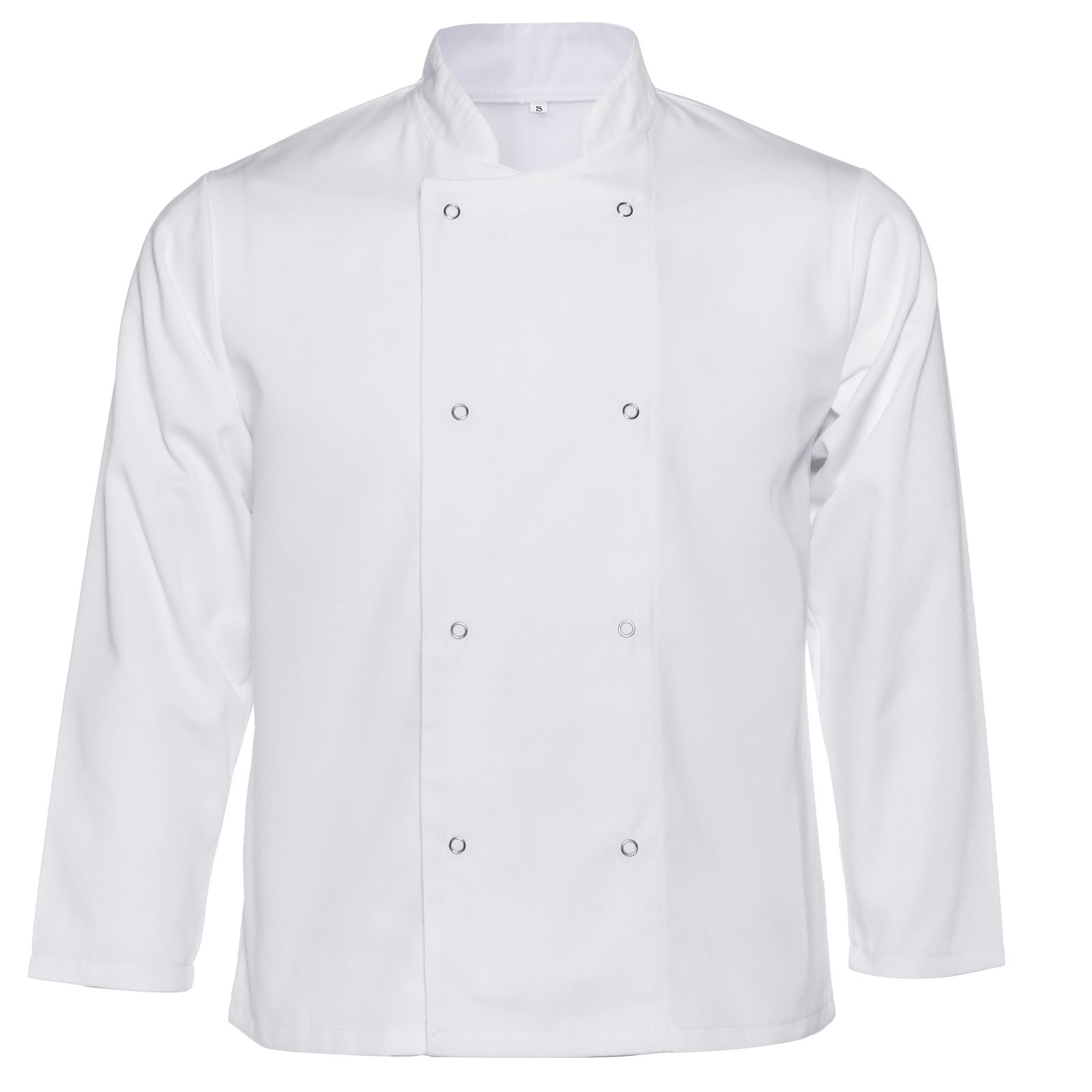 Chef Jacket Coat White Black Trousers Kitchen Catering