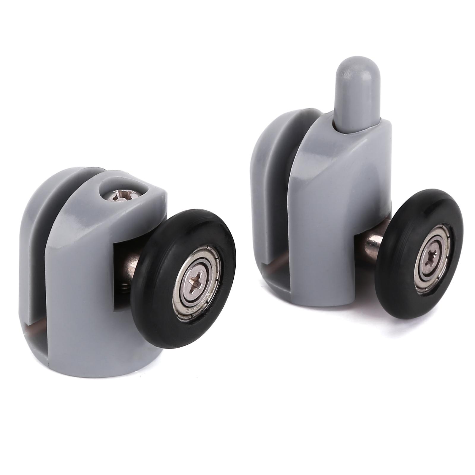 8x Single Shower Screen Door Wheels Rollers Runners Guides