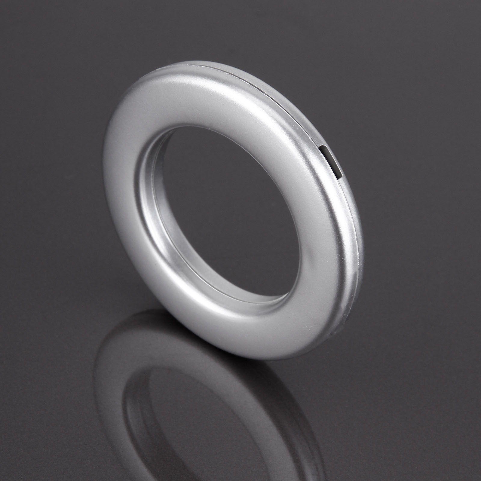 20 X Round Plastic Ring For Eyelet Curtain Rod Decor 35mm