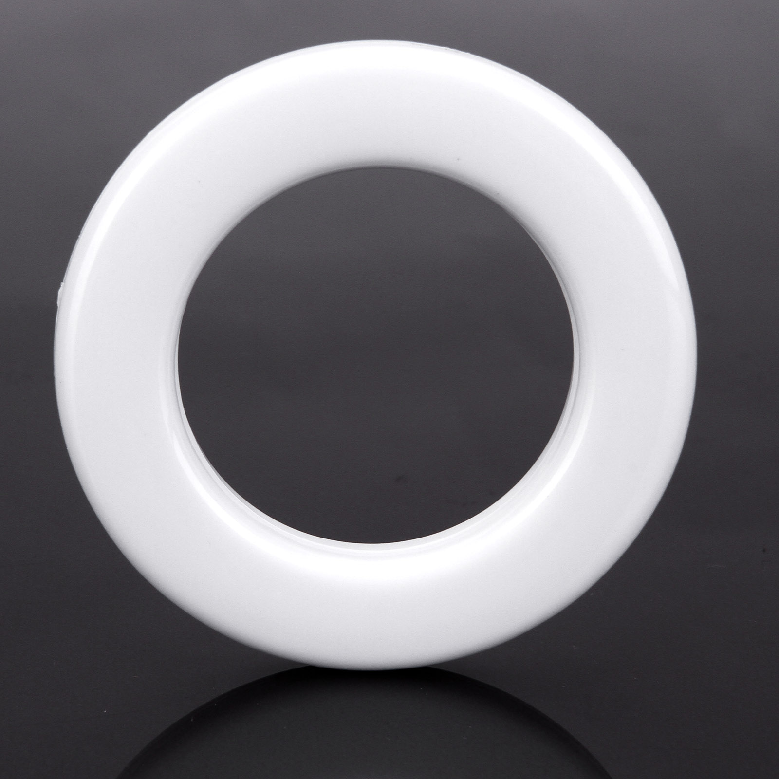 20pcs Round Plastic Ring For Eyelet Curtain Circle Slide
