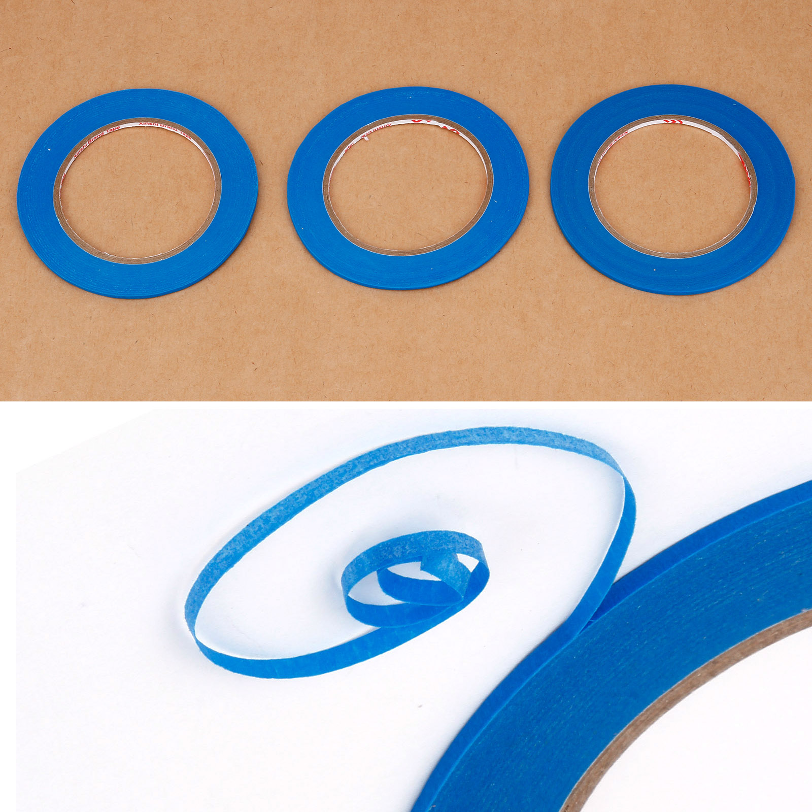 Acrylic Masking Tape 5mm X 55m Fineline for Bodyshop High Temperature Quality