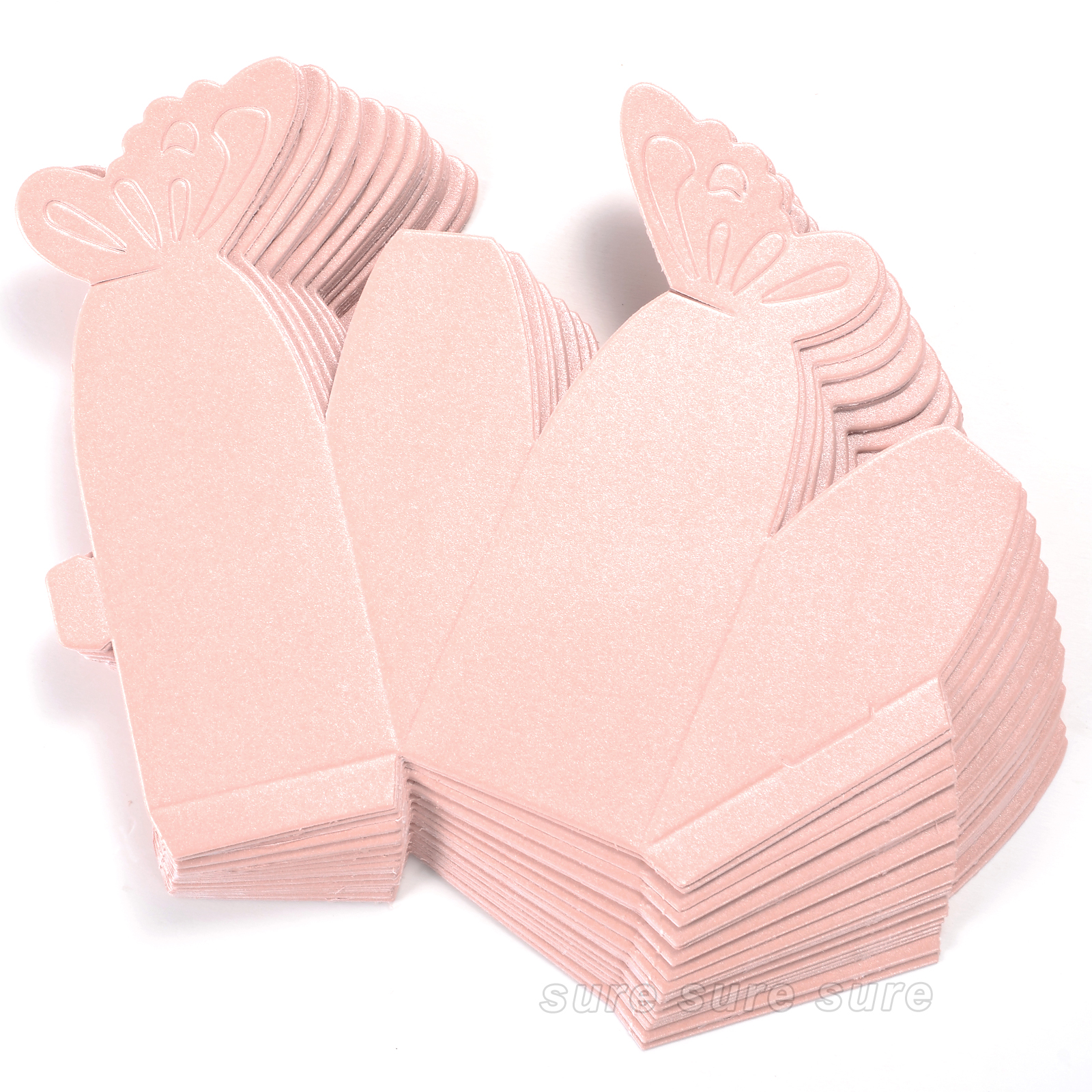 Baby Shower Favor Boxes Uk : Pcs wedding favor gift candy boxes butterfly cake